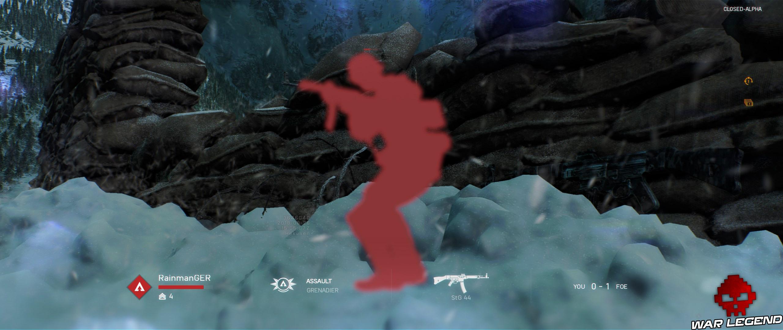 Battlefield V affichage ennemi rouge