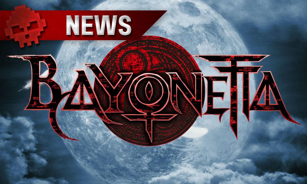 Bayonetta - Le studio aimerait faire plus de portages sur PC Logo du jeu et pleine lune en arrière plan