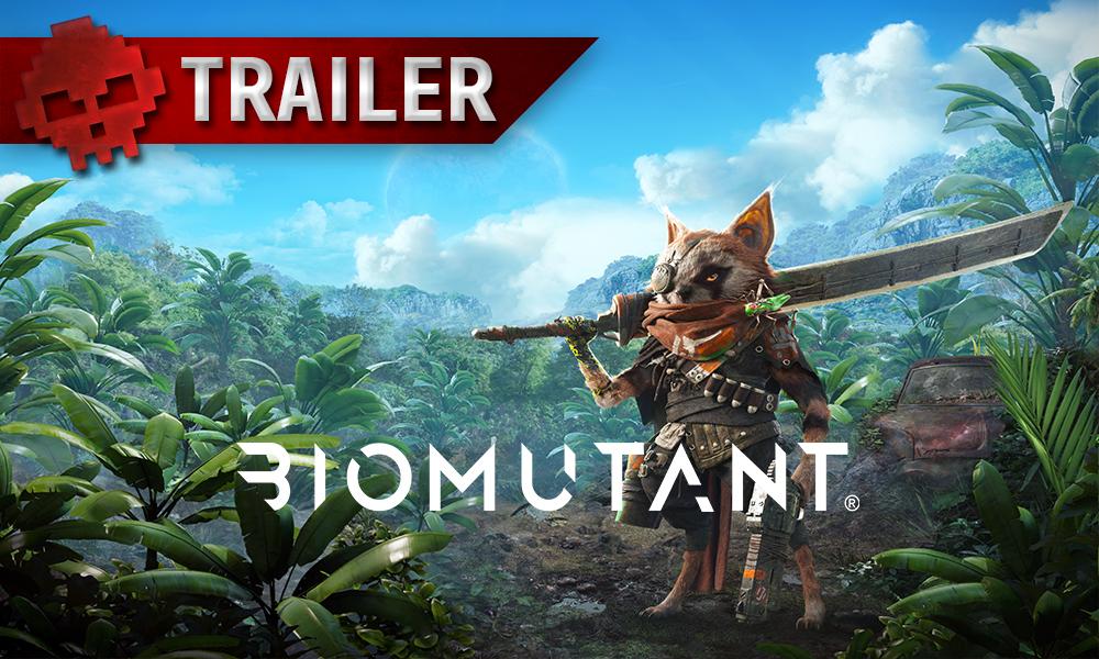 Biomutant trailer gameplay