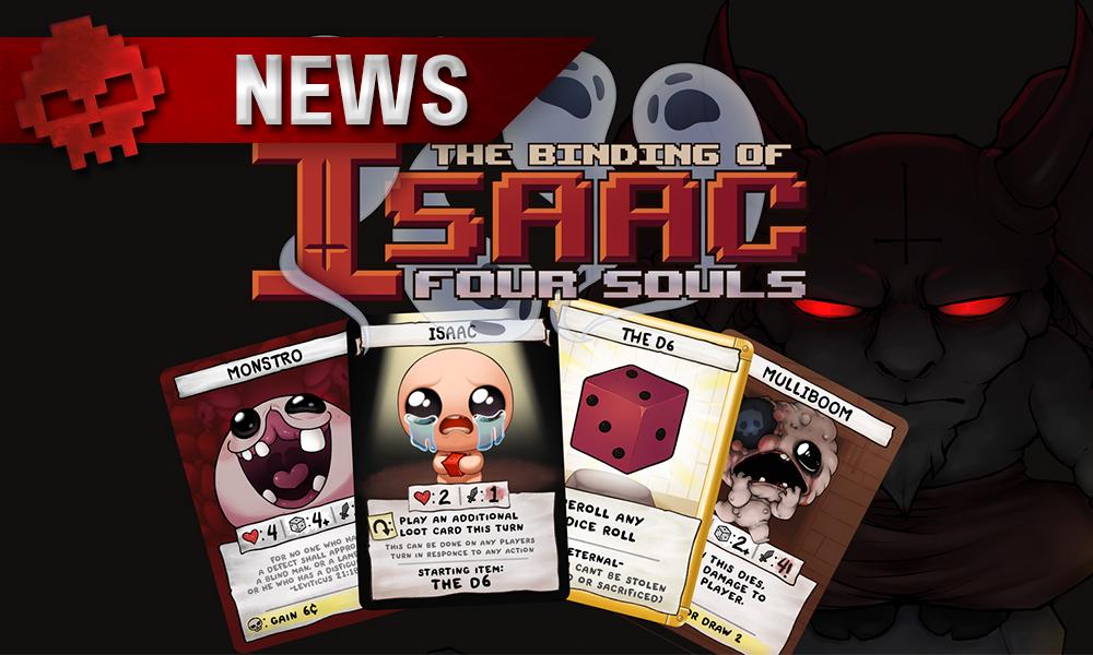 Binding of Isaac s'offre un jeu de cartes