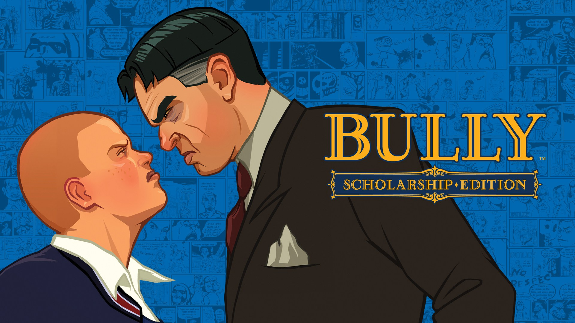 Rockstar bully scholarship edition poster affiche