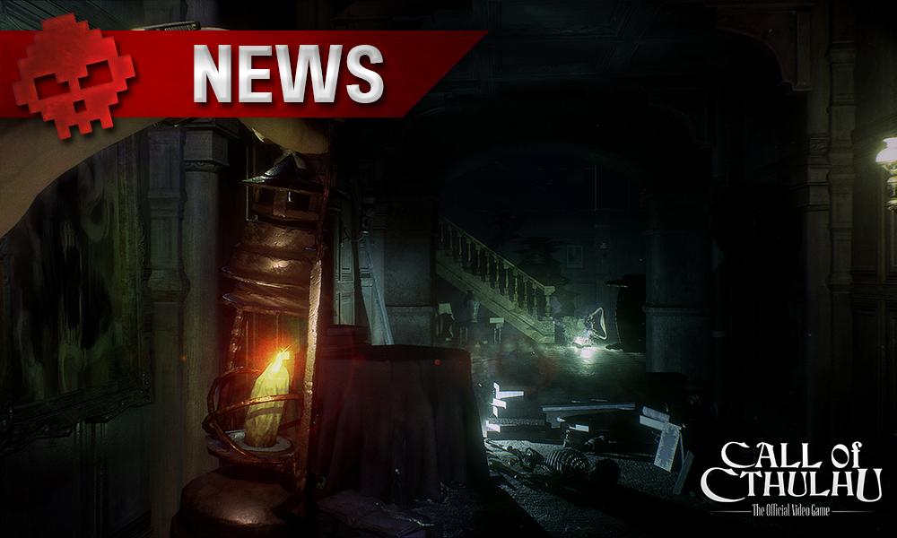 Call of Cthulhu - Des screenshots lanterne tendue vers l'ombre