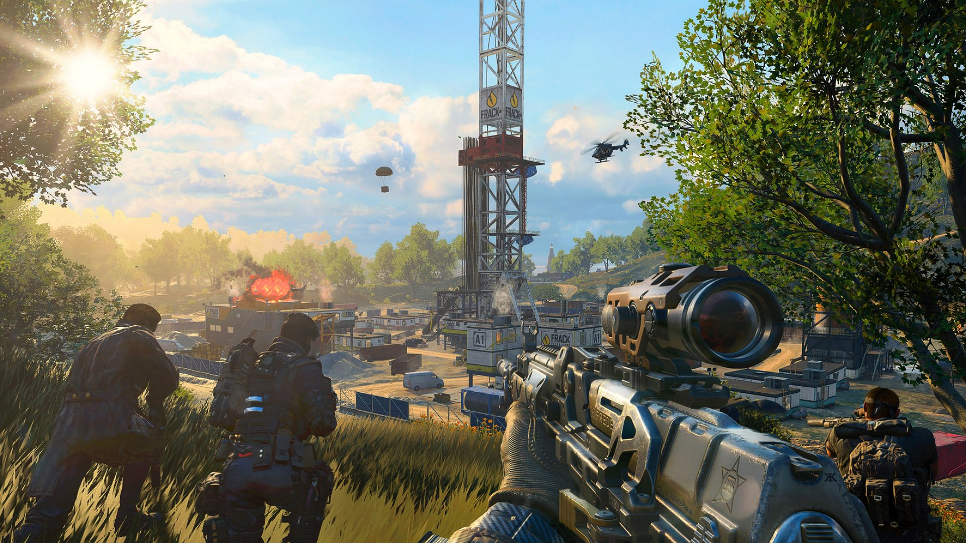 Test Call of Duty: Black Ops 4 Blackout