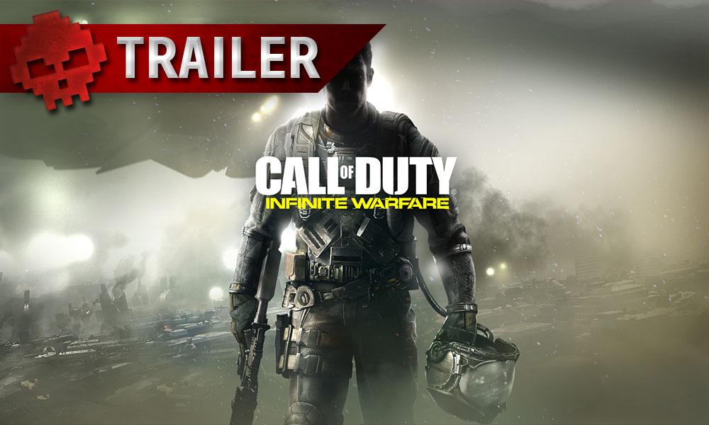 CoD: Infinite Warfare - Le premier DLC dévoilé et daté en vidéo soldat armé en arrière-plan