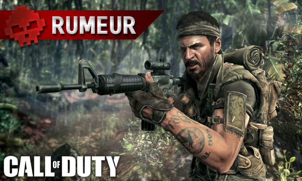 Call of Duty 2018 serait un nouveau Black Ops et également présent sur Switch