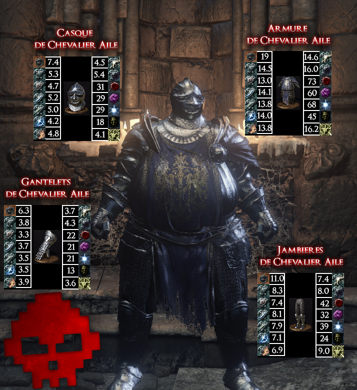 Chevalier Ailé Dark Souls III WAR LEGEND