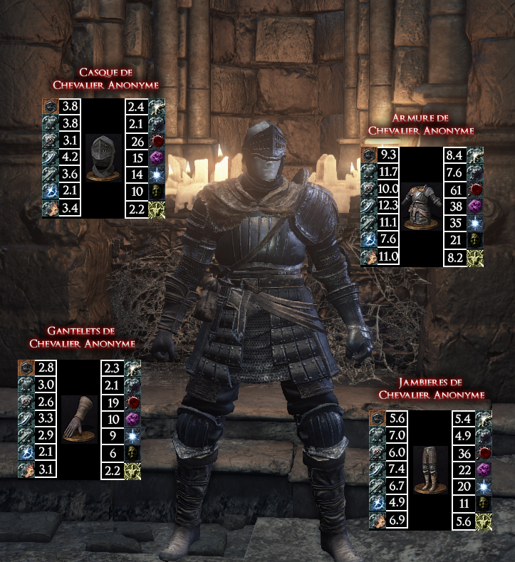 Chevalier Anonyme Dark Souls III WAR LEGEND copie