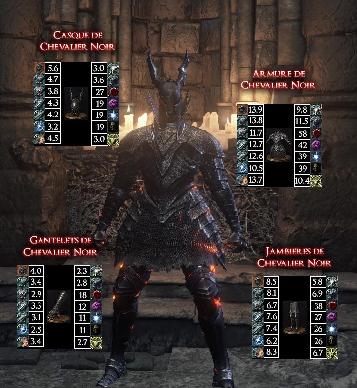 Chevalier Noir Dark Souls III WAR LEGEND copie