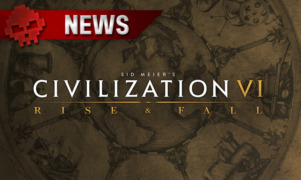 logo civilization VI rise and fall