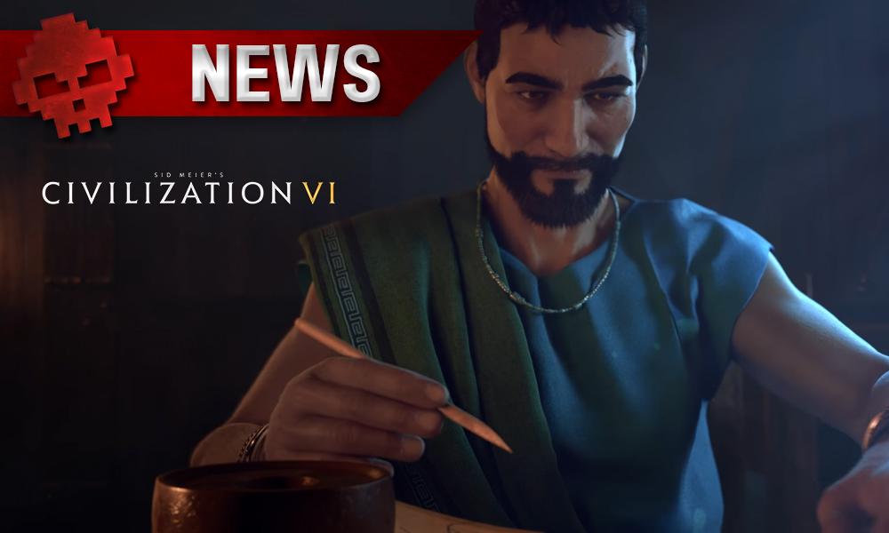 Civilization VI - Le million de joueurs atteint une, homme écrit