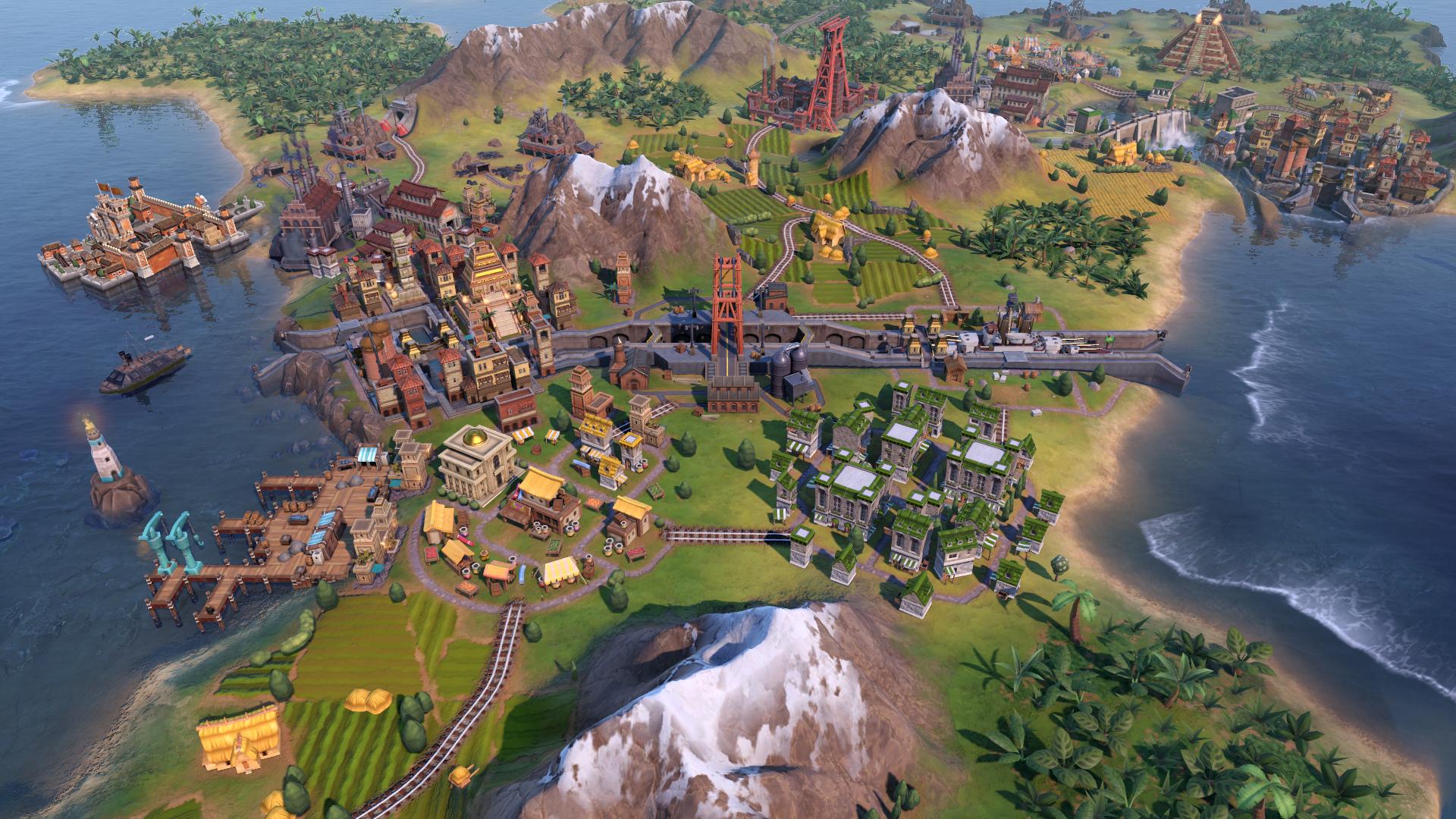 screenshot d'un canal de Civilization 6: The Gathering Storm