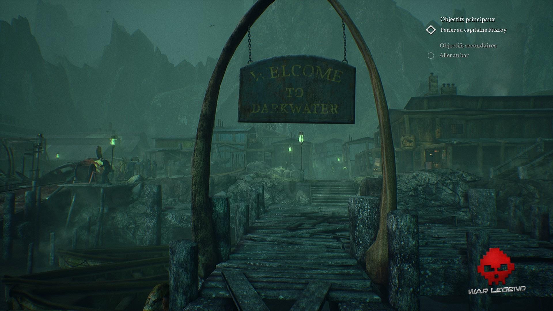 Bienvenue à Darkwater