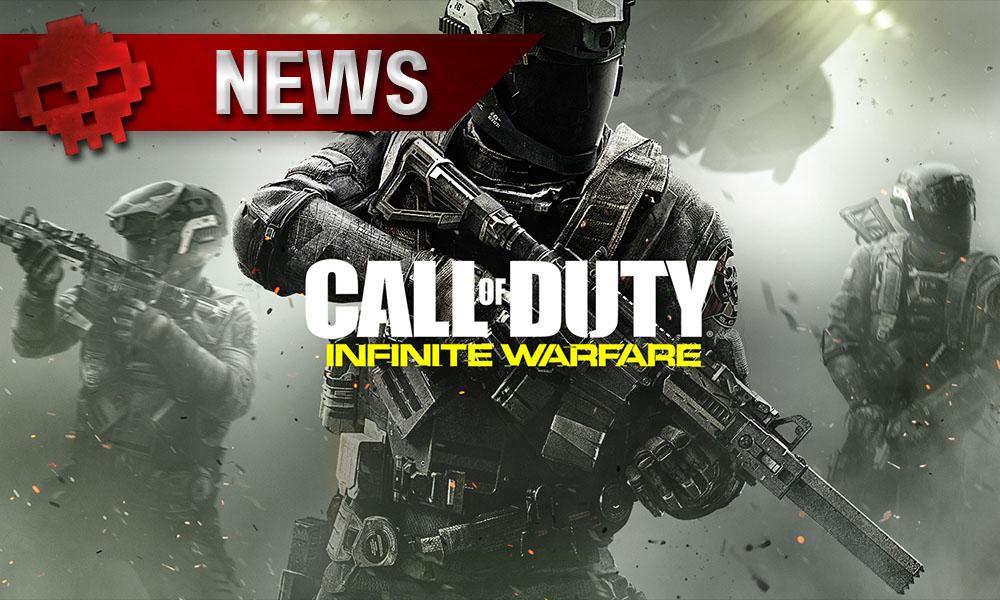 CoD: Infinite Warfare - Le multijoueur sur Steam gratuit ce week-end Soldats et Logo