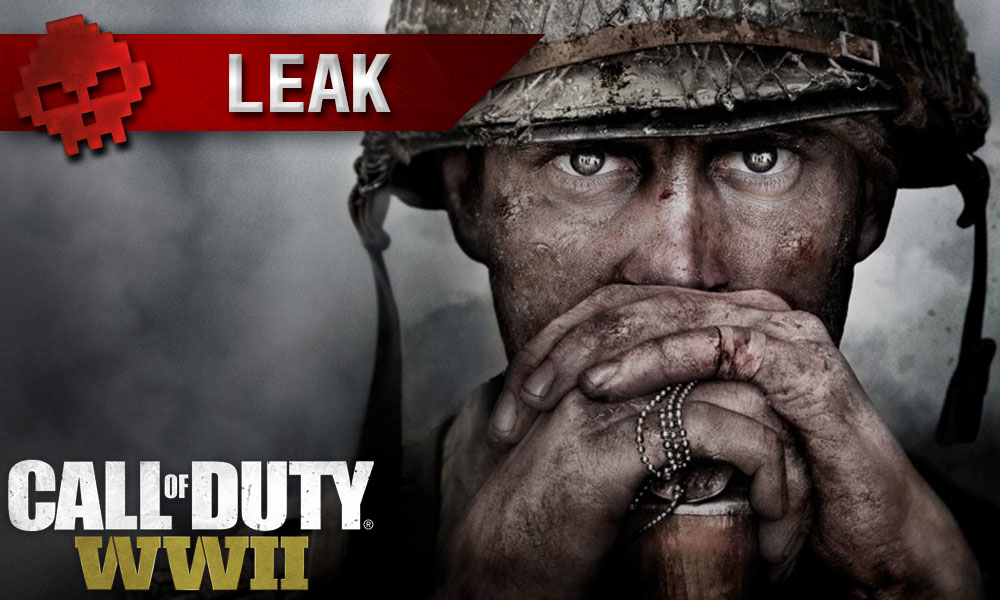 Call of Duty WWII - Quelques images ont fuité