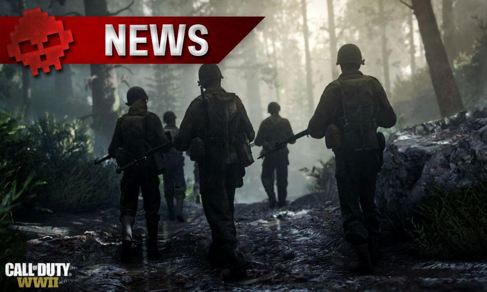 Call of Duty: WWII – Pas de regains de santé ni de munitions