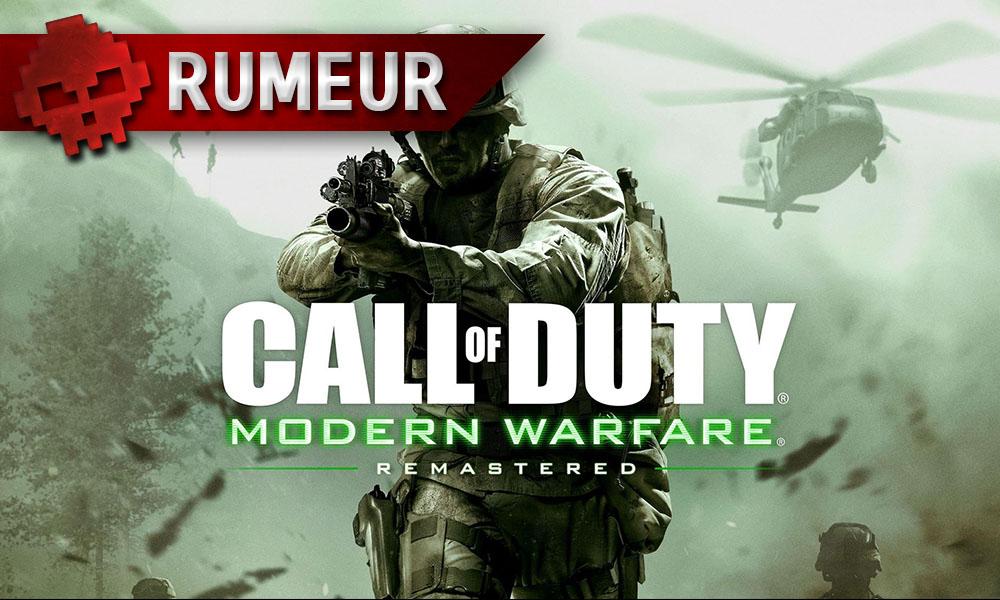 Call of Duty: Modern Warfare Remastered - La version boite arrive bientôt
