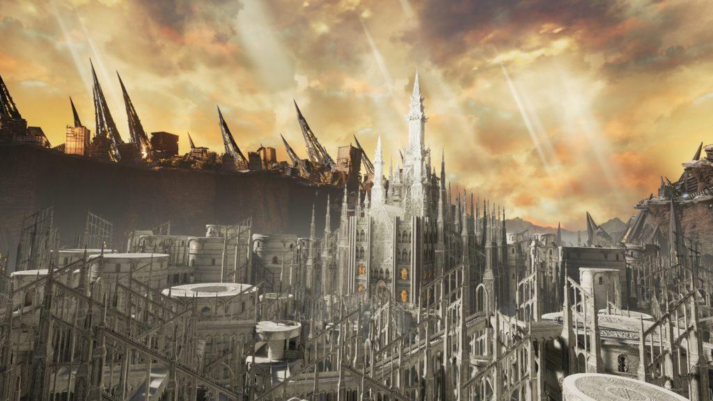 La Cathédrale Sacrée dans Code Vein