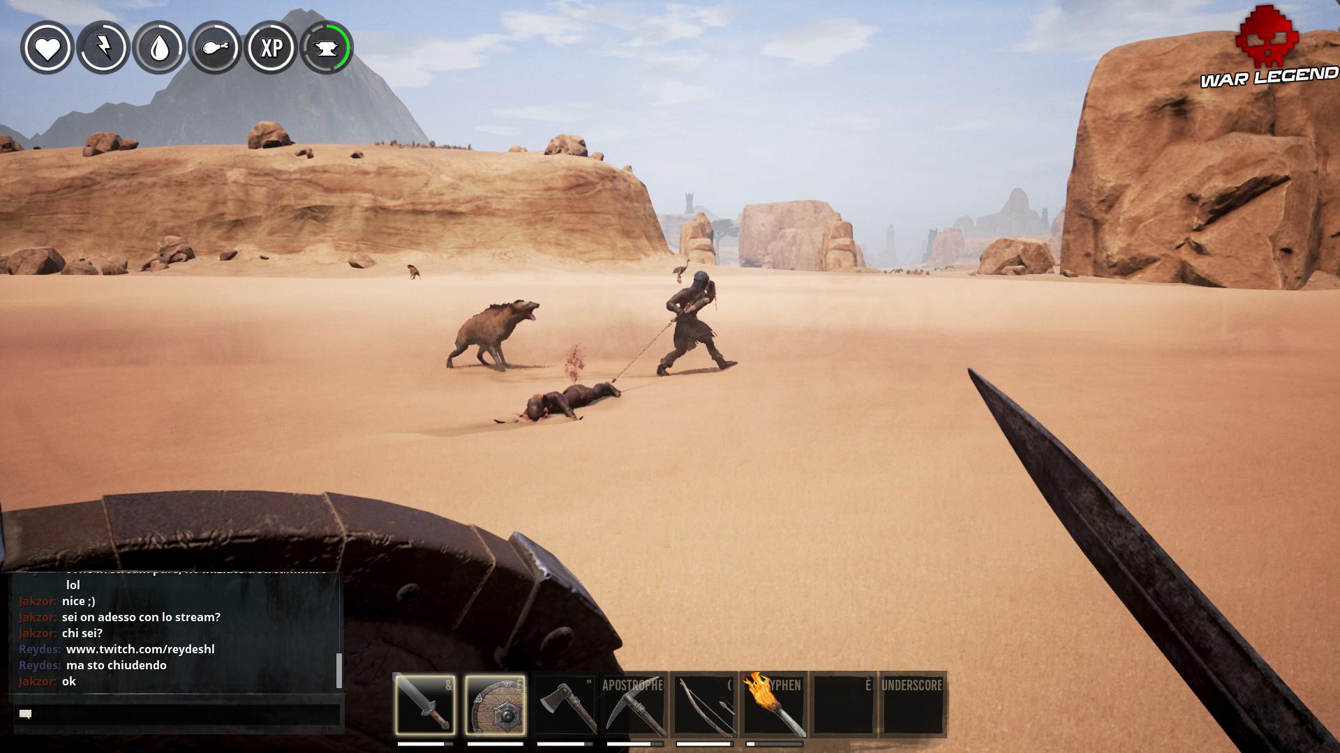 Conan Exiles capture d'esclave