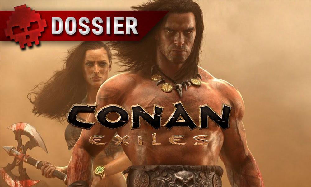 Conan Exiles - Le programme du contenu à venir dévoilé Conan aux côtés d'une femme + Logo