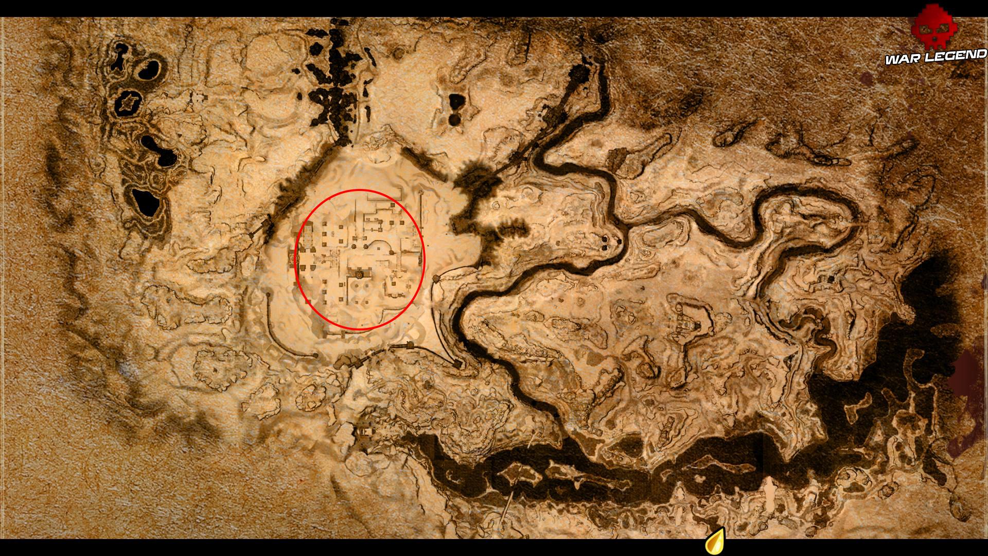 Conan Exiles - Fabriquer de la poudre de dragon carte du jeu