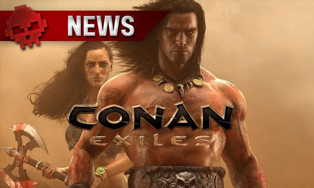 Vignette news Conan Exiles - Conan et une guerrière en arrière-plan