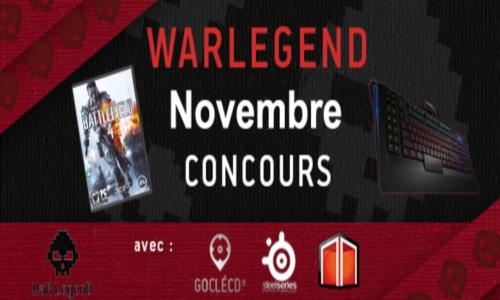 Concours Novembre WL