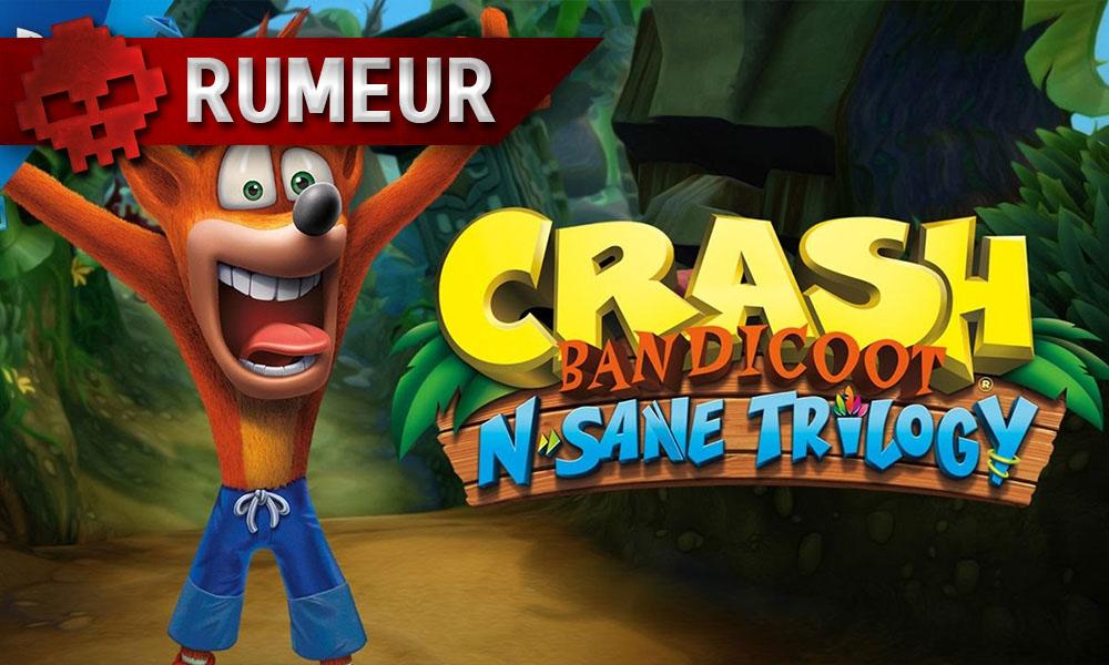 Crash Bandicoot N.Sane Trilogy - Une exclusivité PS4 d'un an ?