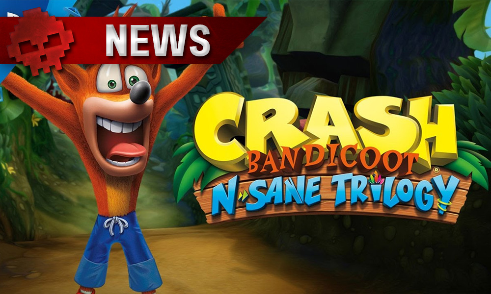 Crash Bandicoot N. Sane Trilogy - Notre héros revient dans une vidéo de gameplay Logo + Personnage