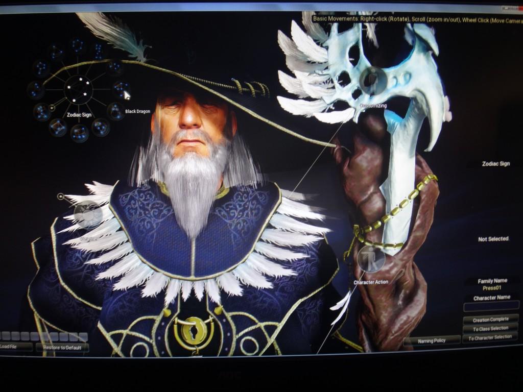 Le magicien par défaut ressemble à mort à Gandalf
