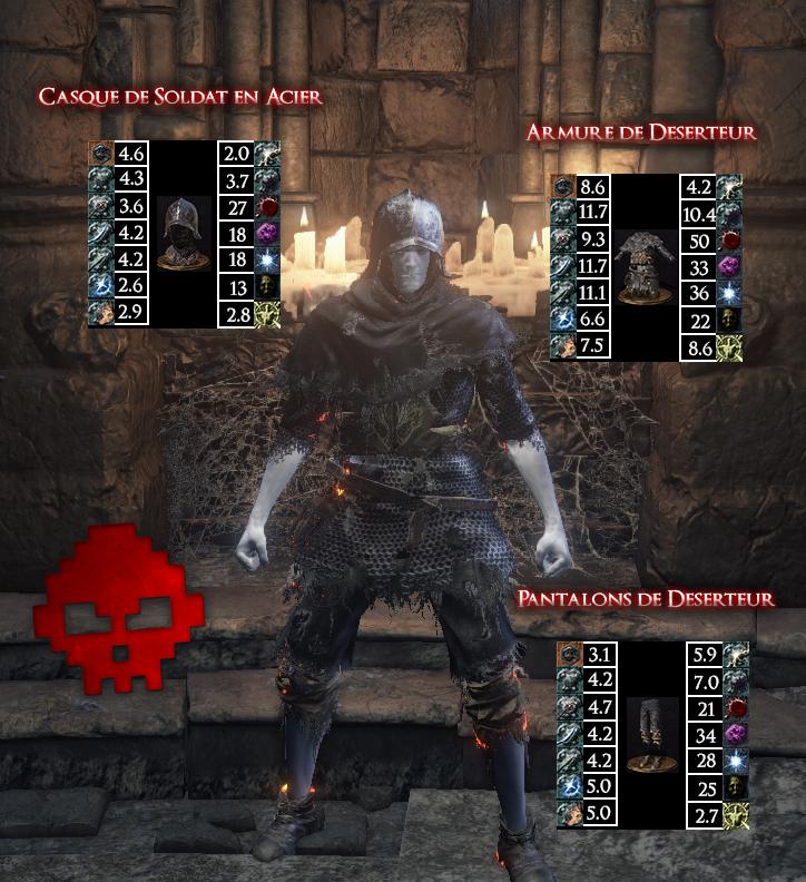 Déserteur Dark Souls III WAR LEGEND copie