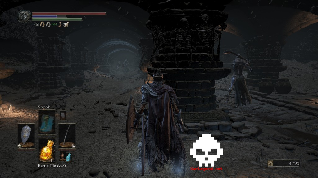 DARK SOULS™ III Catacombes de Carthus WAR LEGEND 3
