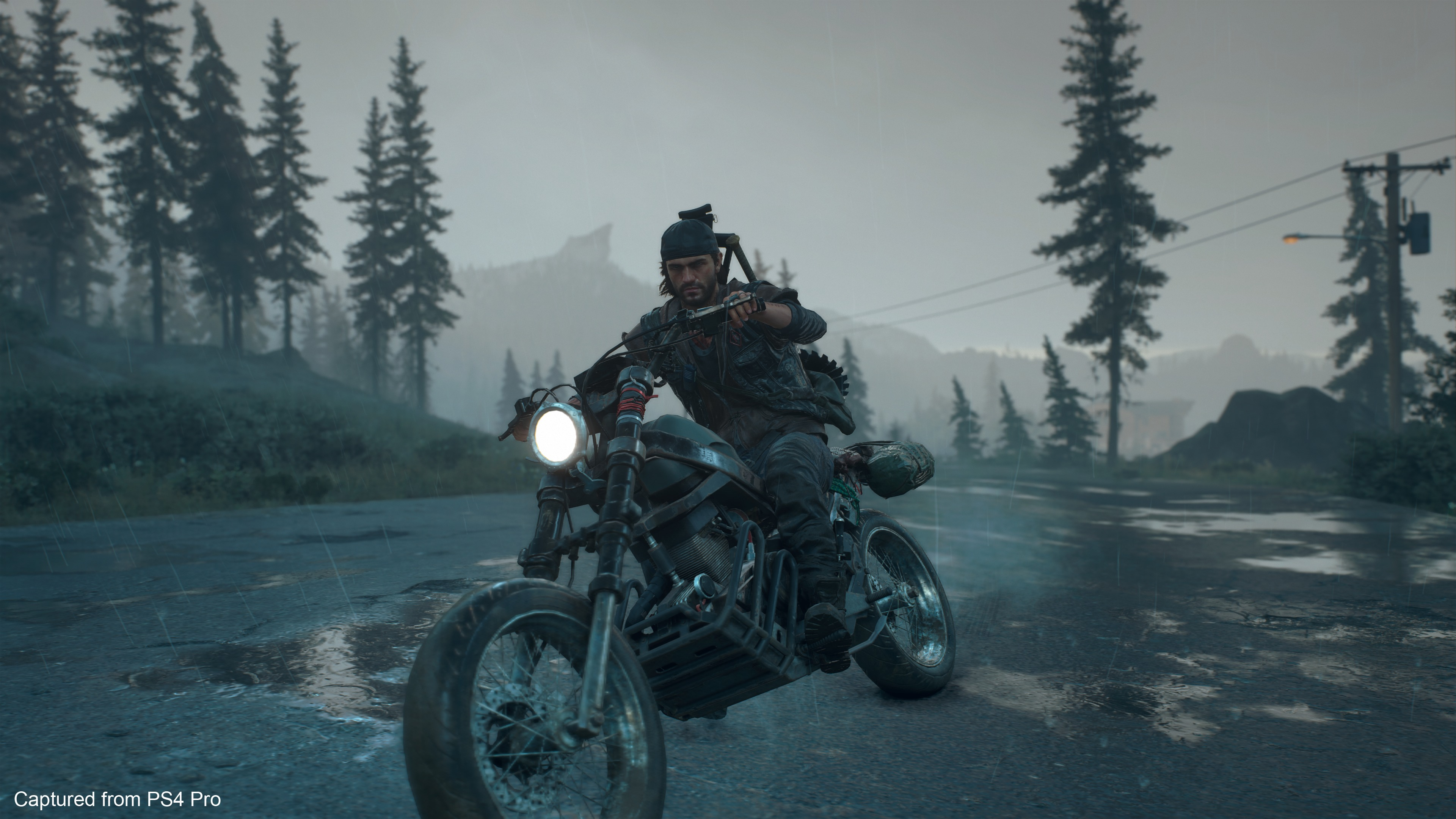 Preview Days Gone - Deacon sur sa moto