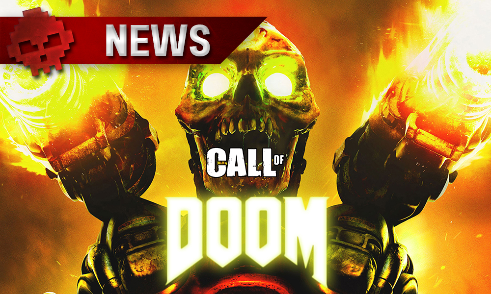 DOOM 4 ressemblait trop à Call of Duty logos call of doom revenant en fond