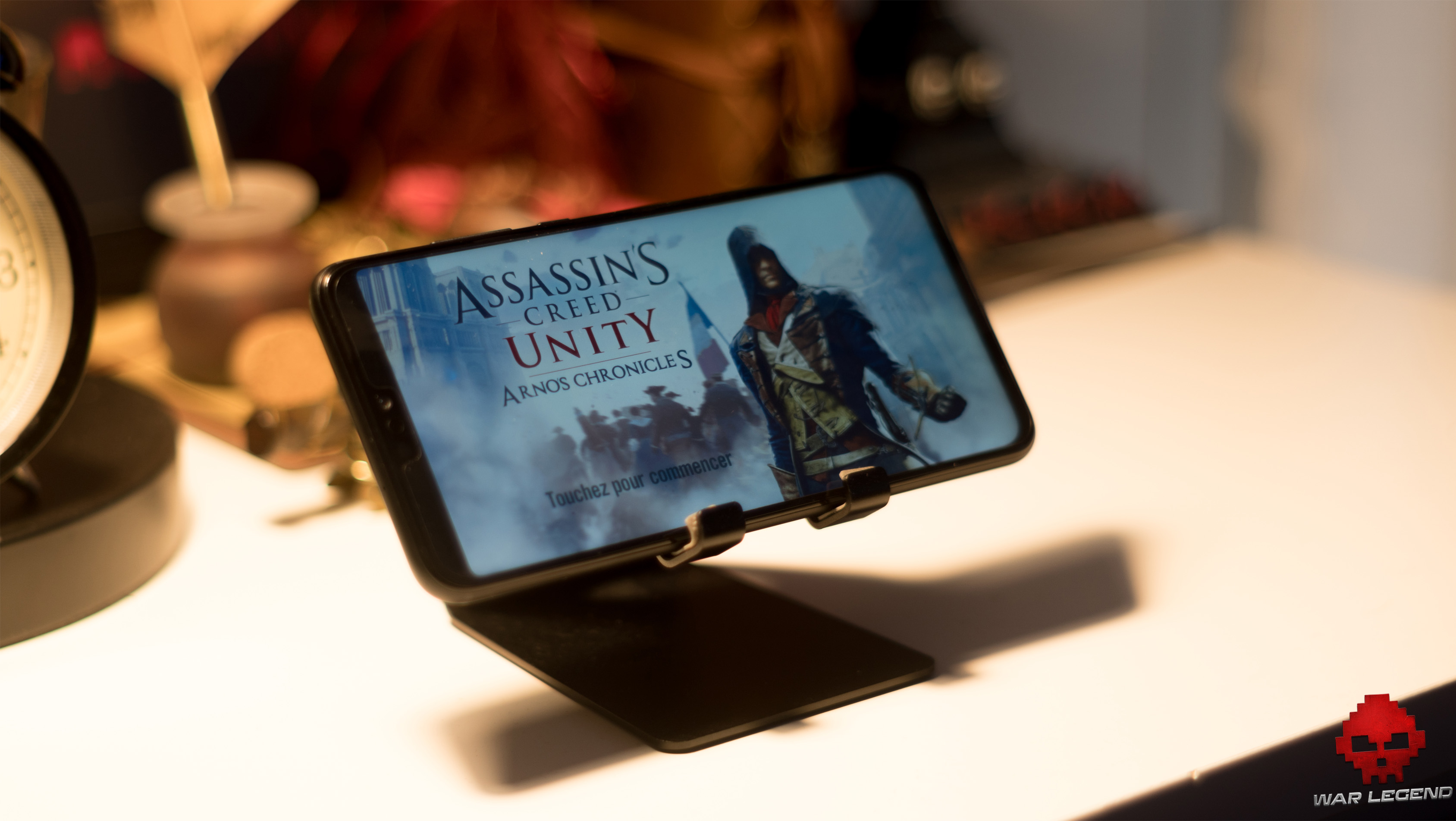 Honor 8x Assassin's creed unity paysage