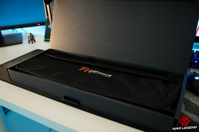 Test Thermaltake Challenger Ultimate - boite box unboxing sacoche transport sac