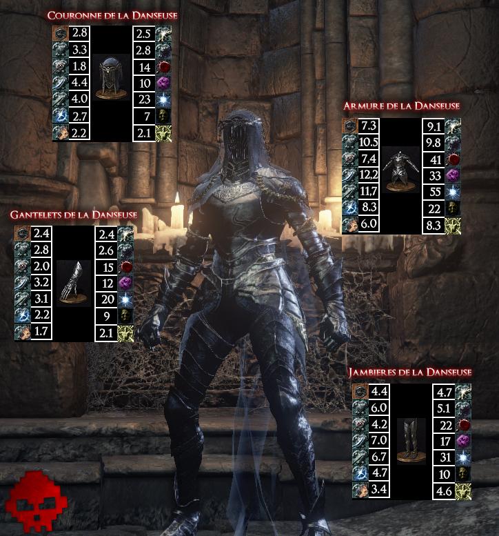 Danseuse Dark Souls III WAR LEGEND