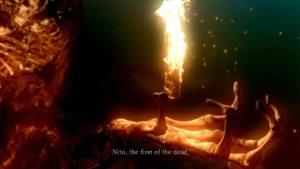 Dark Souls viseuel main nito