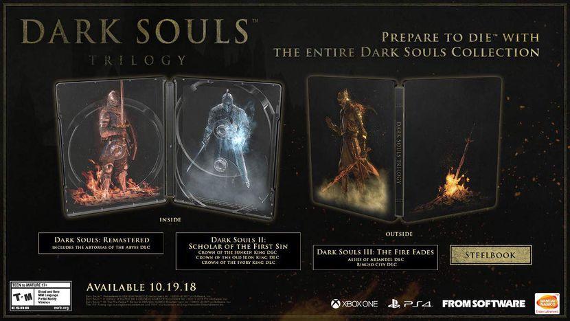 Dark Souls Trilogy visuel