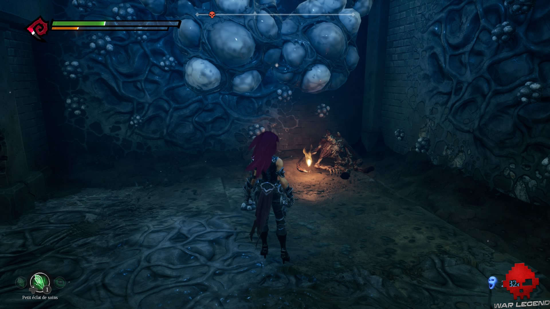 Darksiders III objet au sol