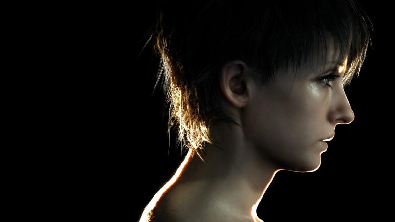 Resident evil 7 - Zoé de profil