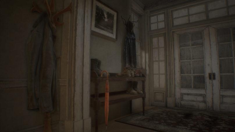 Resident Evil 7 - hall d'entrée