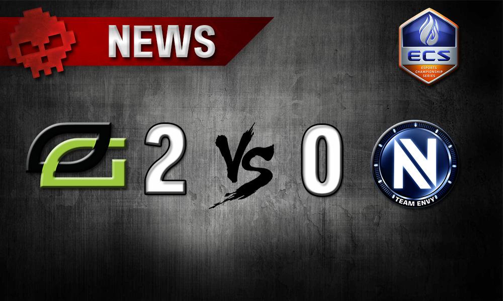 CS: GO - ECS : les EnVyUs n'iront pas en finale - Logo des deux équipes avec le score