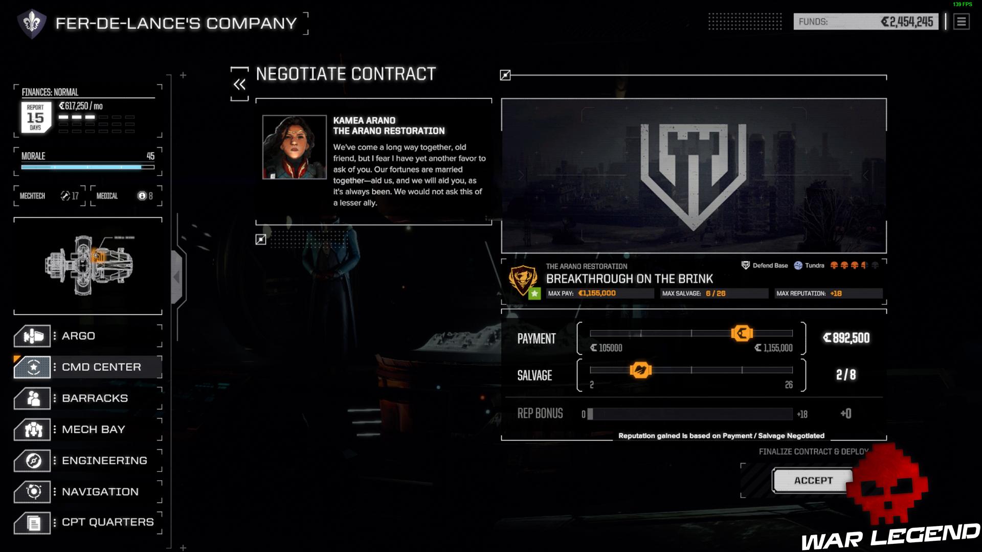 négociation contrat