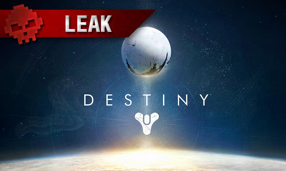 Destiny 2 - Un poster avec une date de sortie fuite sur le net