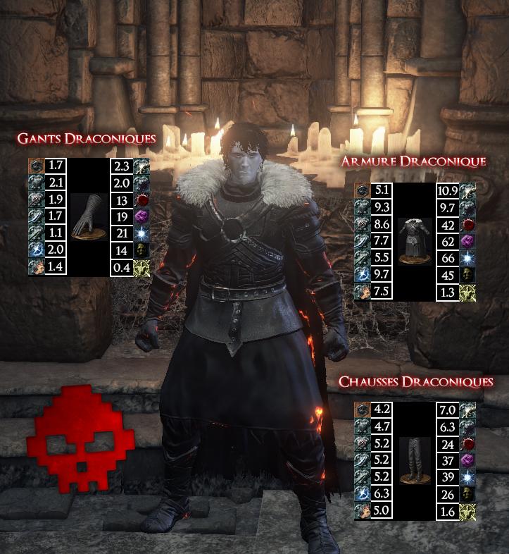 Draconique Dark Souls III WAR LEGEND copie