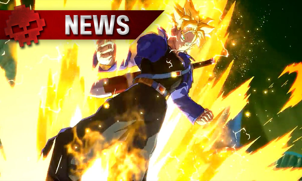 Trunks en Gameplay Vidéo — Dragon Ball FighterZ
