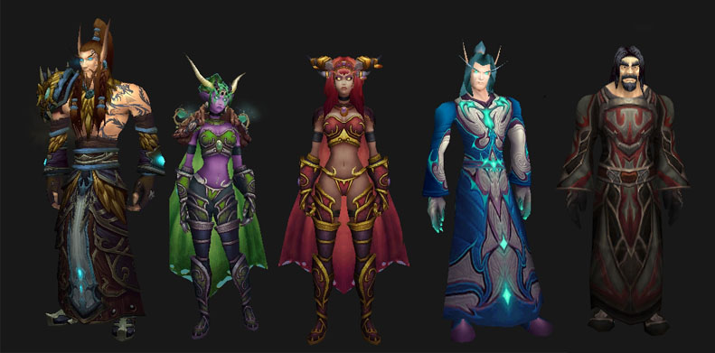 Dragon_aspects_humanoid_forms