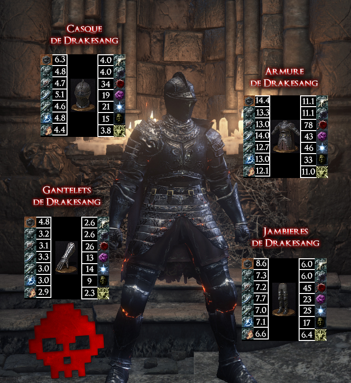 Drakesang Dark Souls III WAR LEGEND copie