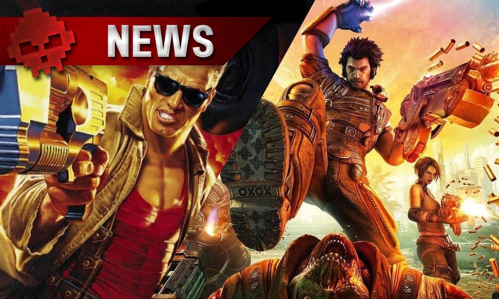 Gearbox présente : Duke Nukem dans le remaster de Bulletstorm duke vs bulletstorm