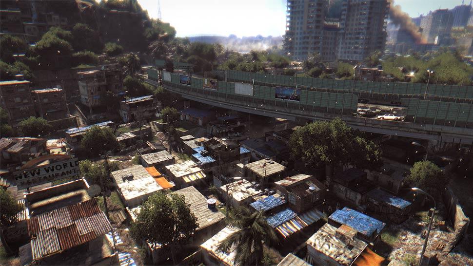 Les bidonvilles offrent de bonnes façons pour se déplacer rapidement.